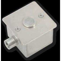 Nișă INOX - PT. 1 buton piezo