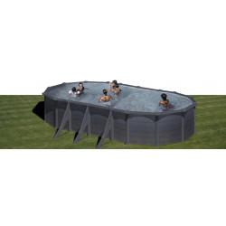 Kit piscina GRE ovală...