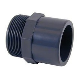 "Adaptor PVC d50 - 1 1/2""..."