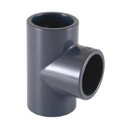 Teu PVC D75, 90 grade
